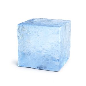 Taper: Cold, Hard, Cash Thanks to New Refrigeration Technology - Ice block