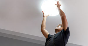 What is a commercial LED lighting retrofit?